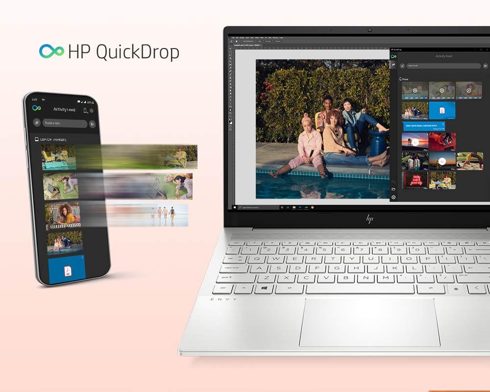 HP Quickdrop App